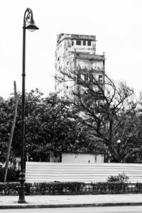 Havana (Kuba), poblíž bulváru Malecón.